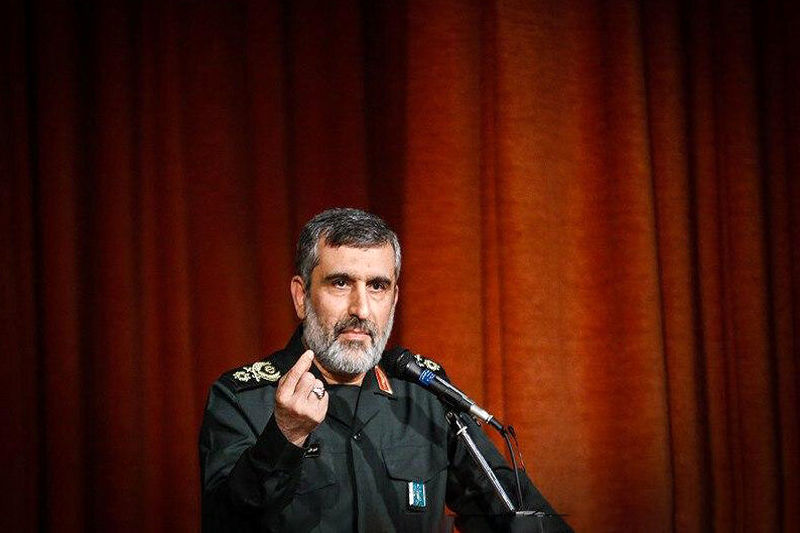 خط و نشان سردار حاجیزاده برای آمریکاییها