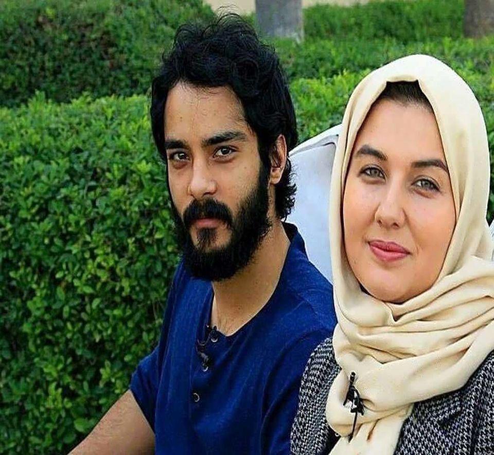 نظر همسر ساعد حسینی درباره زندگی در ایران! + ویدئو