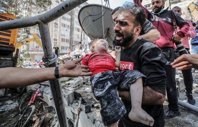 ظریف: آمریکا اسرائیل را تسلیح میکند تا کودکان بیشتری کشته شوند