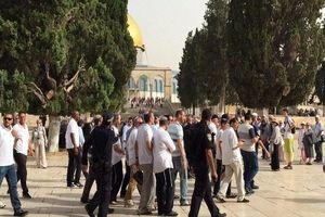 یورش شهرکنشینان به مسجدالاقصی/ شهادت یک فلسطینی در کرانه باختری