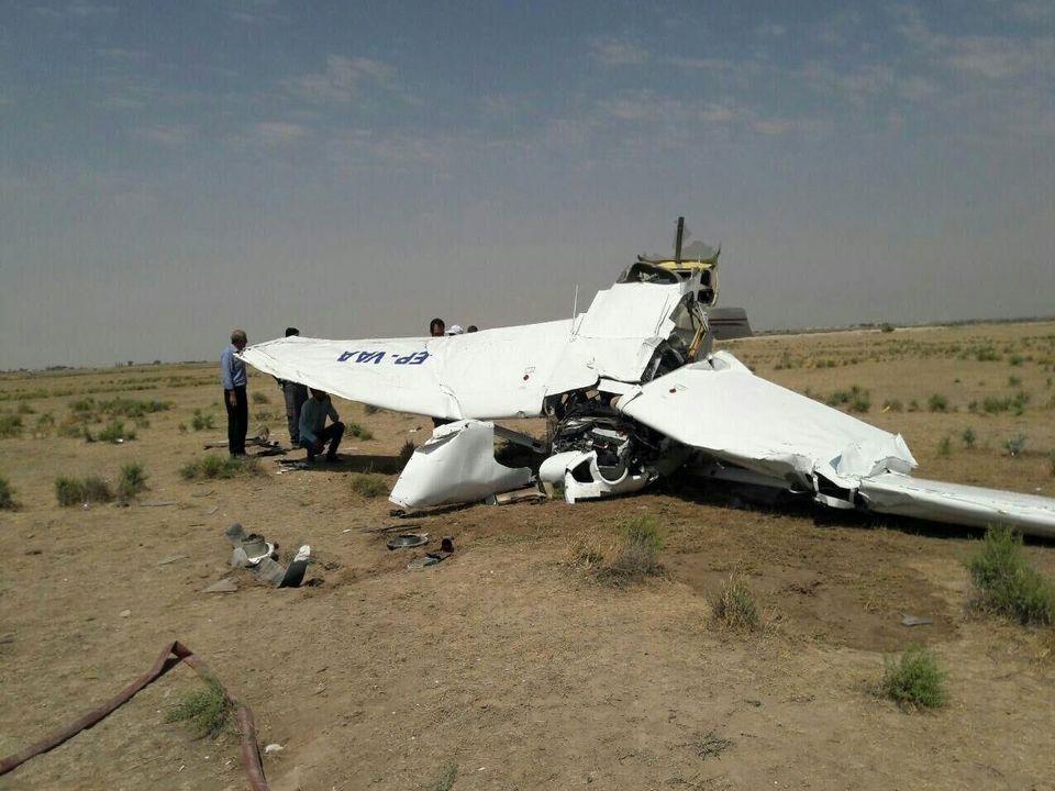 آخرین اخبار و جزئیات از سقوط هواپیما در نوشهر