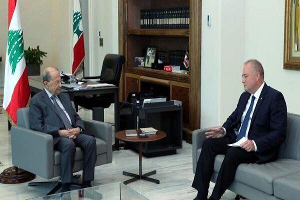 پیام شفاهی ولادیمیر پوتین به رئیس جمهوری لبنان